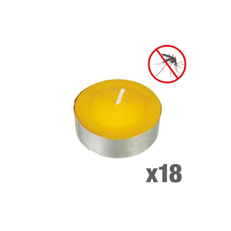Comprar velas de citronela antimosquitos pack de 18 for Velas anti mosquitos